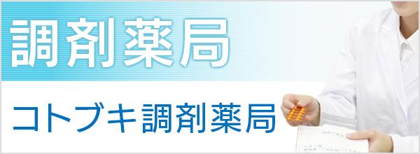 武蔵小杉駅前メディカルプラザ:調剤薬局:コトブキ調剤薬局